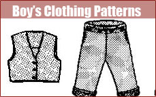Boy's Clothing Patterns