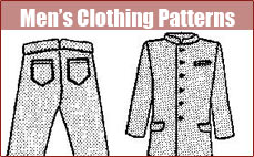 Men's Clothing Patterns